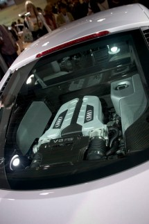 Vue moteur, Audi