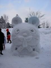 Autres sculptures non traditionnelles en neige ...