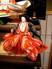 Boutique Miyabi à Yonezawa. Poupée Hina Sama
