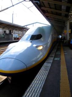 Le Shinkansen Tsubasa (si je ne me trompe pas)