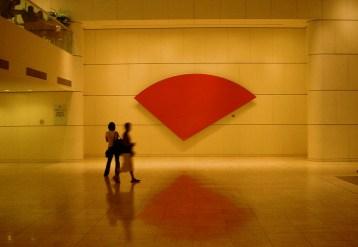 Galerie commercante du Swissotel, cela rappelle le Japon