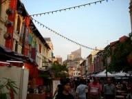 Rue colorée