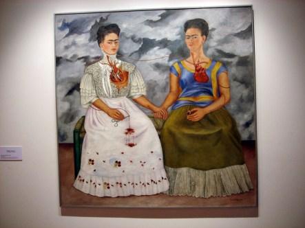 Musée d'Art Moderne et Frida Kahlo