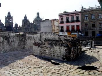 Templo Mayor, la ville ville astèque repose sous Mexico City