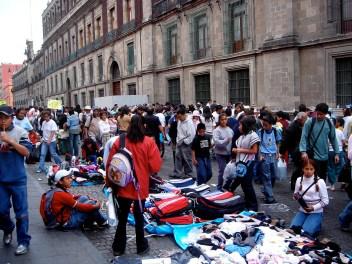 Marché de rue dans le Centro Historico