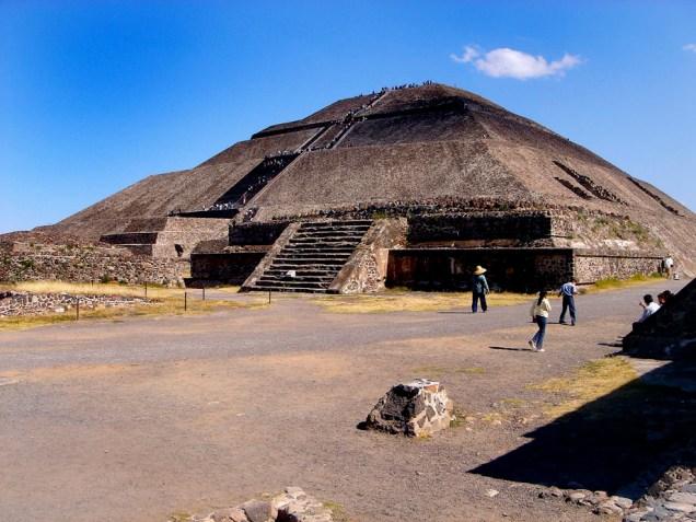 Pyramide du Soleil, 3ème plus haute pyramide du Monde