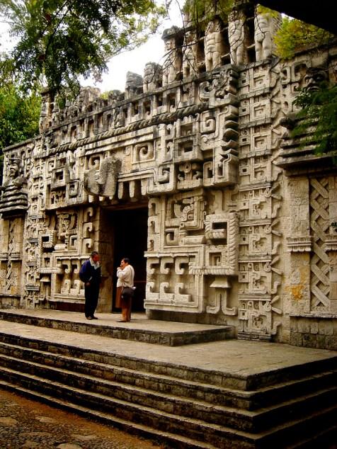 Musée national d'Antropologie, reconstitution Maya