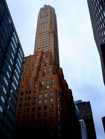 New York, un immeuble très Gotham City