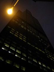 La Sears Tower, haute de 110m, deuxieme plus haute tour du monde.