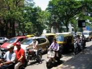 Le traffic habituel et ininterrompu