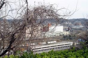 La station de Ofuna, au pied de la colline.