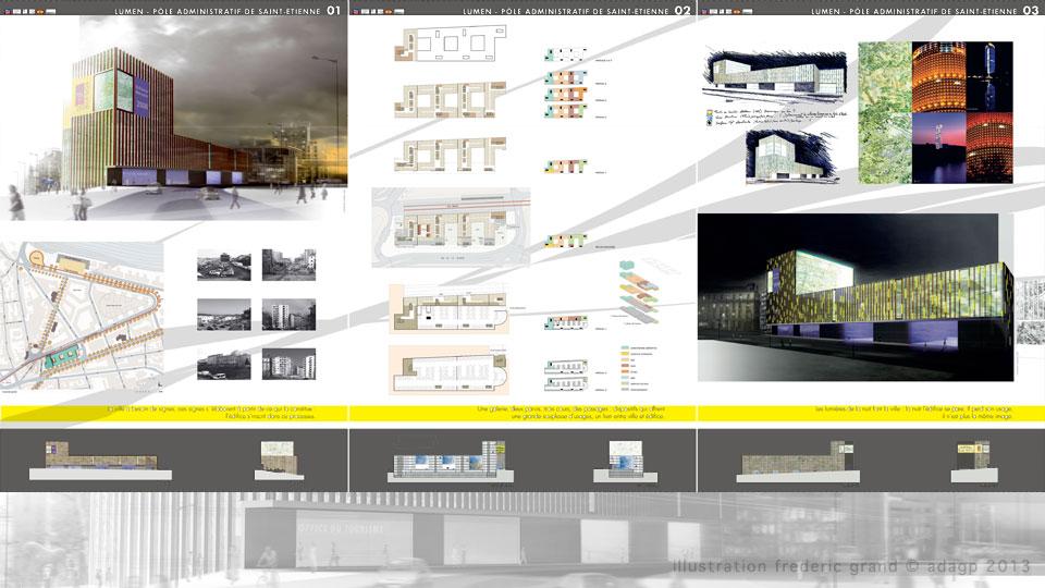 Perspective En Architecture Panneau