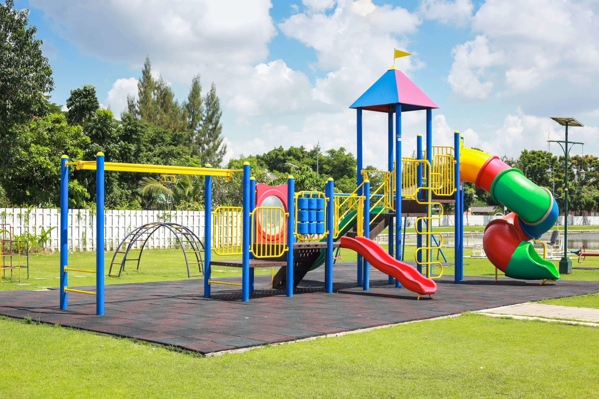 Fort Worth Playground Injuries