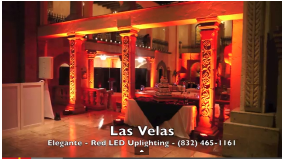 Uplighting Services Houston, Katy, Woodlands, Conroe, Galveston, etc…