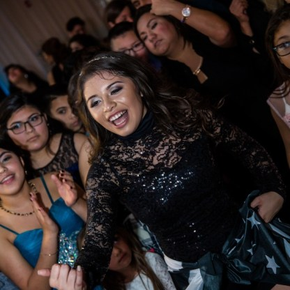 The Quinceanera Having a Blast
