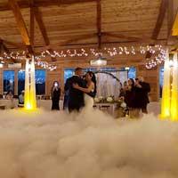 DJ in Houston Dancing on a cloud