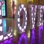 DJ in Houston LOVE Letter Rental