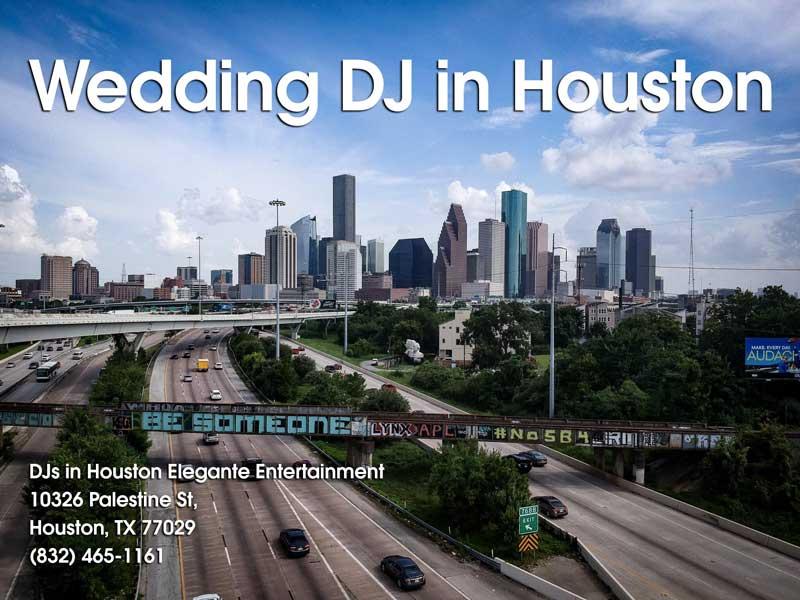 Wedding DJ in Houston Texas