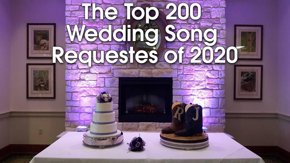 Best Wedding Songs of 2020
