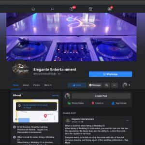 DJs in Houston Elegante Facebook Page Join Us