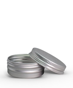 15g Aluminum Tin Jar with Screw On Lid