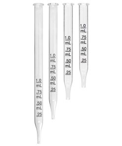 Plastic and Glass Pipettes