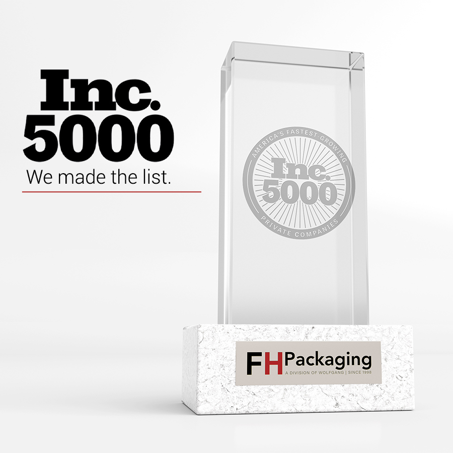 Top Packaging Company – FH Packaging in the Inc. 5000