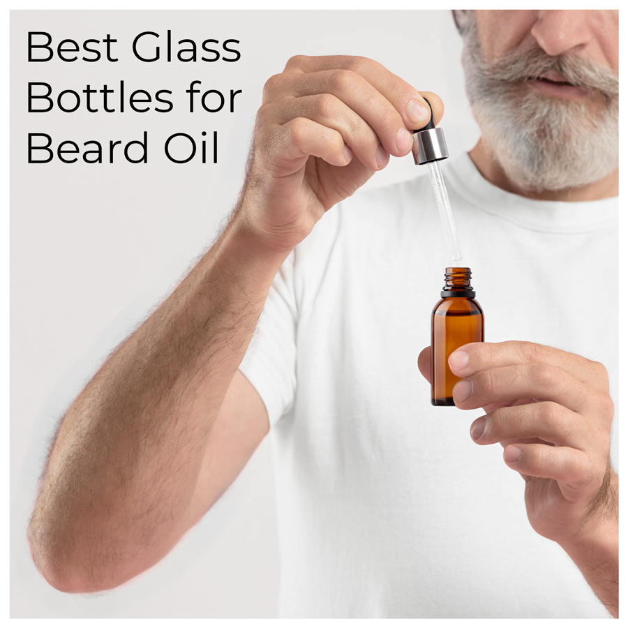 5 Best Jars and Glass Bottles for Beard Oil Products
