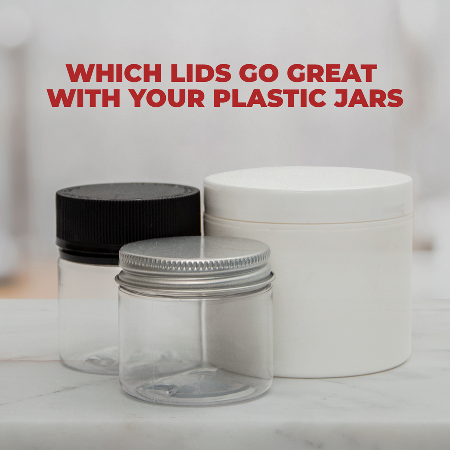 Which Lids Go Great with Your Plastic Jars