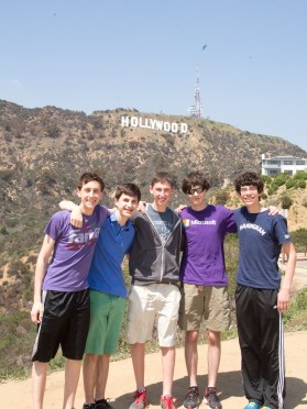 At the Hollywood Sign