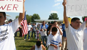 Immigrant Rights Rally in Prince William County - Photo: marisseay/flickr