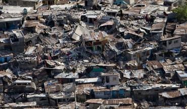 Damage from the 2010 Haiti earthquake