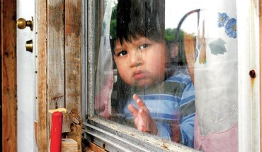 A Latino child in Georgia
