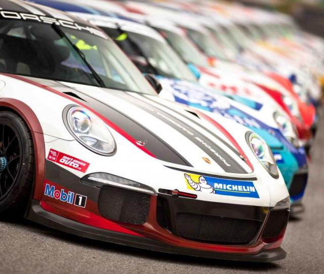 Twenty Eight Of The Mighty Porsche  Gt Cup Type  Racing Cars Will Line Up On The Grid At The Shanghai International Circuit With An International