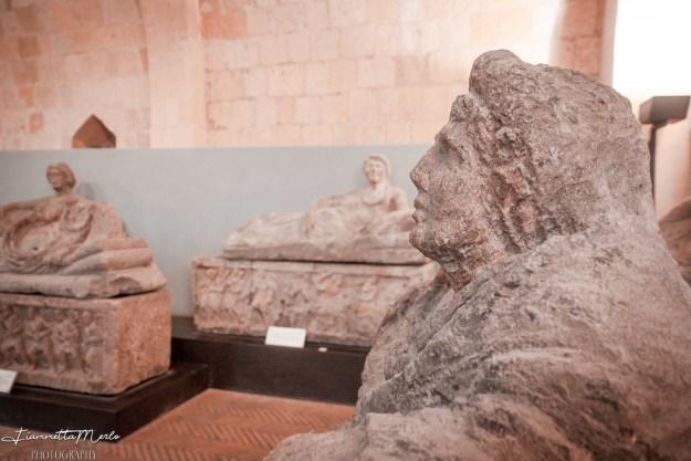 Sarcofago etrusco museo nazionale etrusco tarquinia