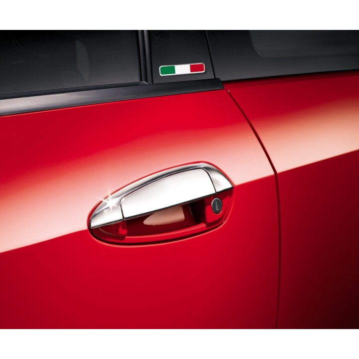 Fiat Grande Punto Chromed Door Handles 5 Door Official