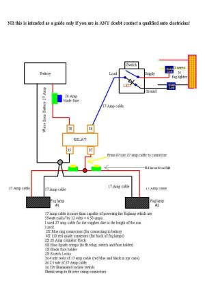Technical: Here is a relay (for headlights, etc)  The