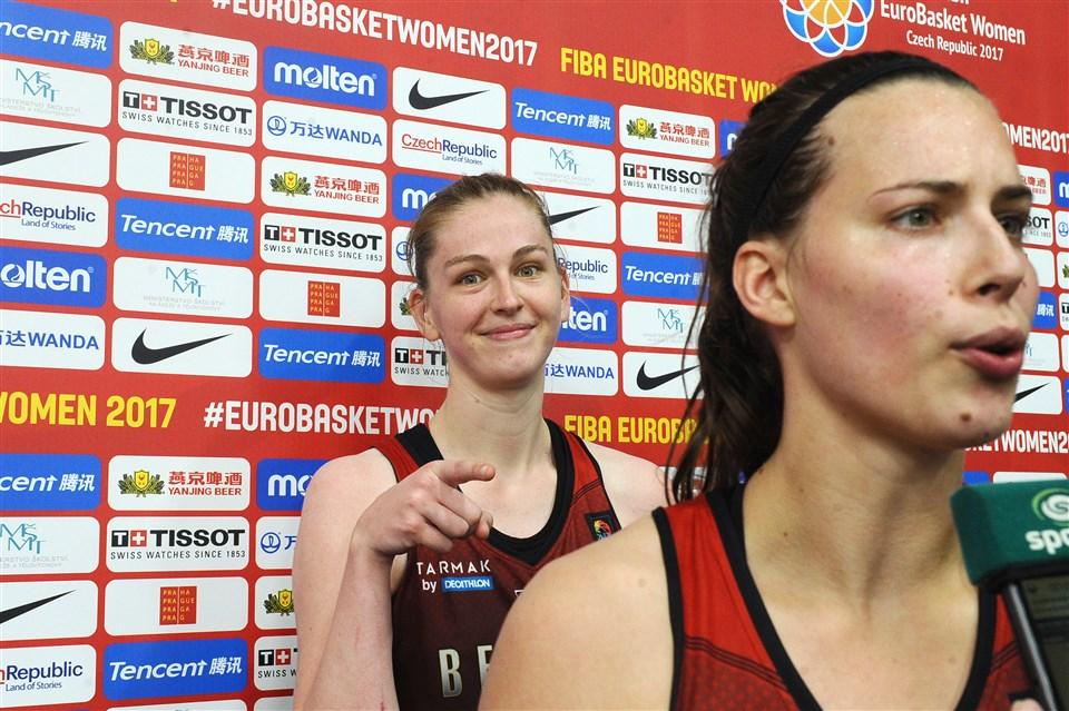 Emma Messeman jugadora de Bélgica