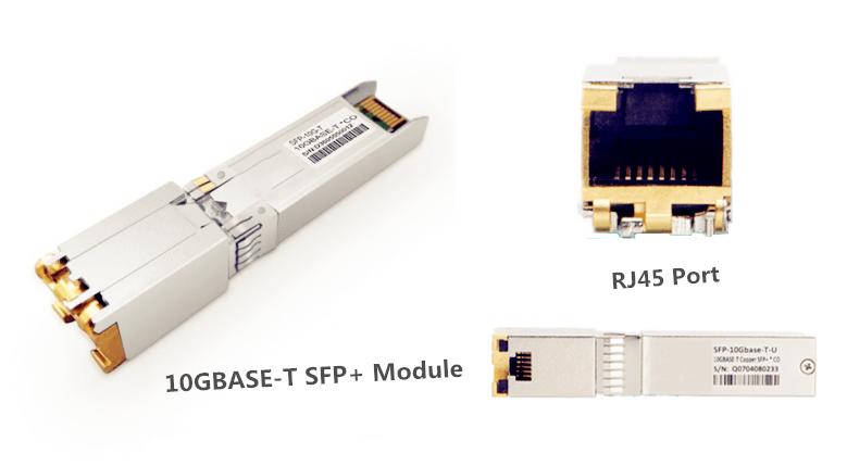 10GBASE-T SFP+ Module