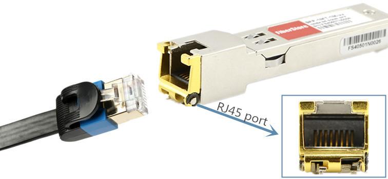 10GBASE-T RJ45 SFP+ Copper module
