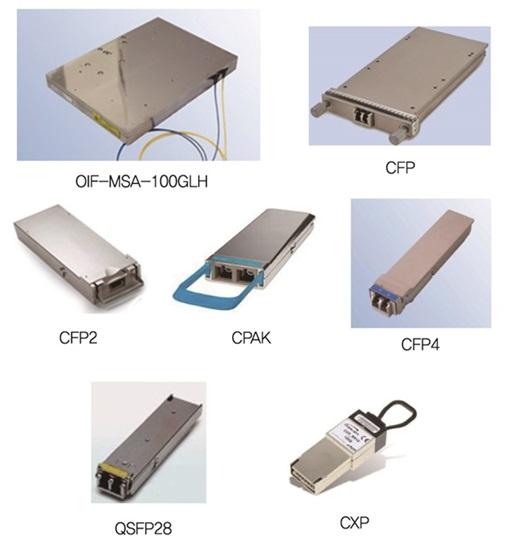 100G transceiver modules