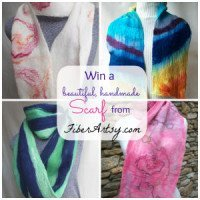 Giveaway! Win a Hand Felted Scarf!