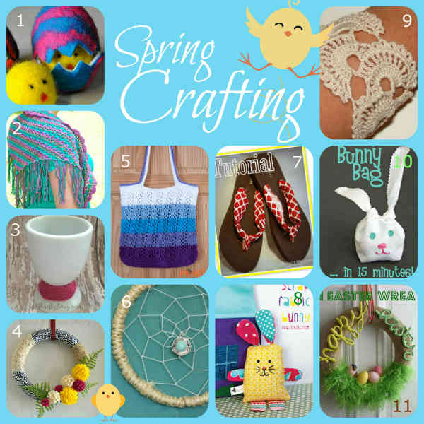 Crafts for Spring, Fiberartsy.com