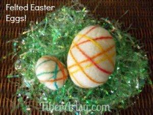 How to Felt Easter Eggs