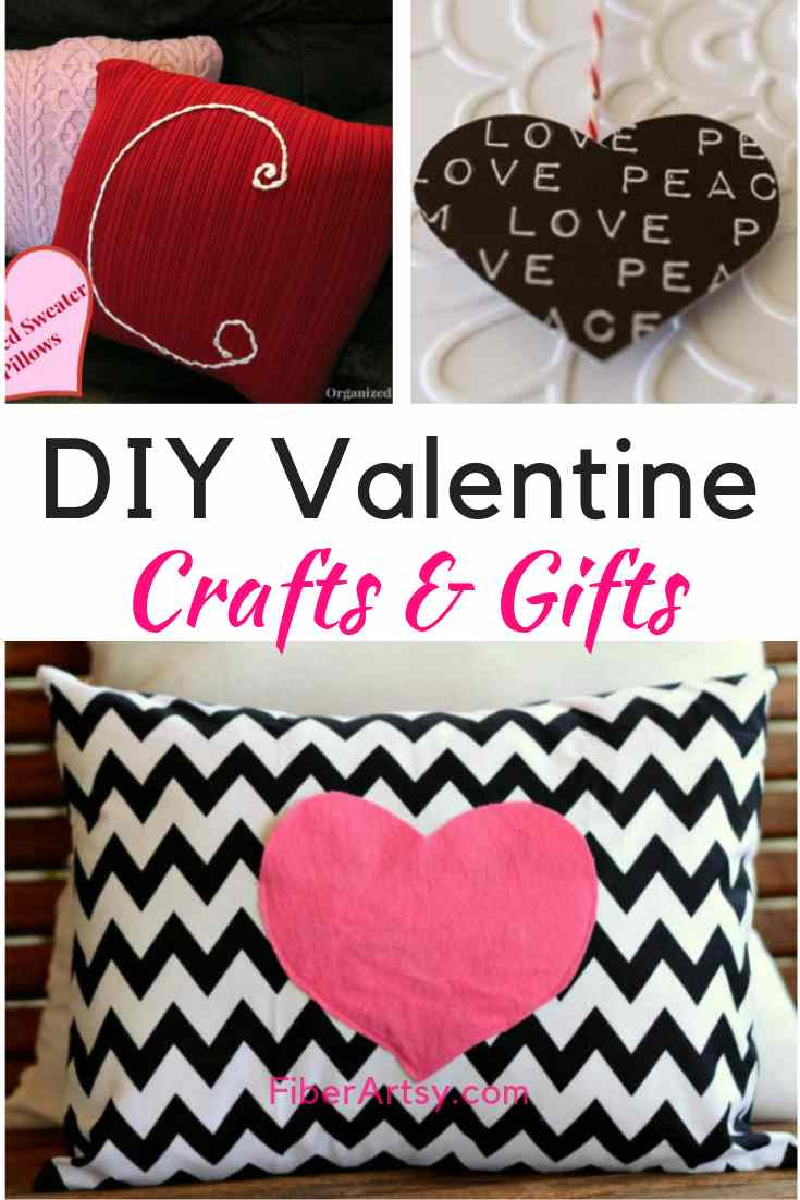 DIY Easy Valentine Crafts for Adults to make for Handmade Gifts or Valentines