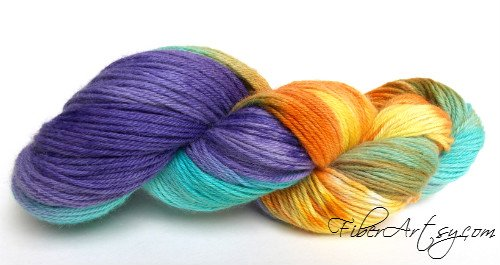 Yarn Colorway of the Month, Fiberartsy.com