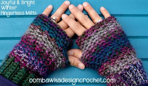 Fingerless mitten pattern