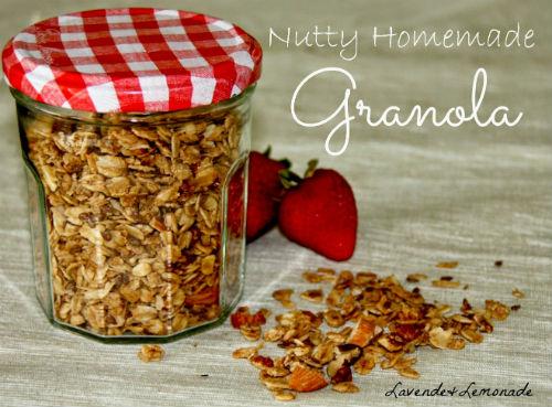 Homemade Granola Mix Homemade Christmas Present