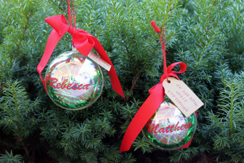 Money Gift Christmas Ornament. Great Gift Idea for Teens and Kids