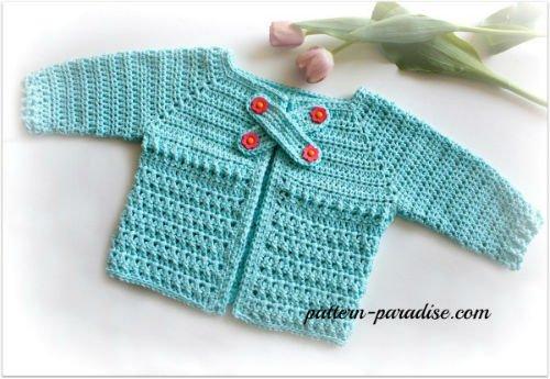 Crochet Sweater Pattern for Baby